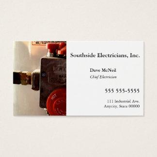 Water heater business card