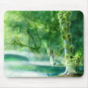 Water Hole Mouse Pad mousepad
