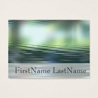 Water Horizon Custom Indestructible Business Cards