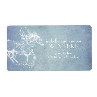 Water Horse Fantasy Label