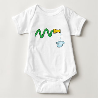 Water hose baby bodysuit