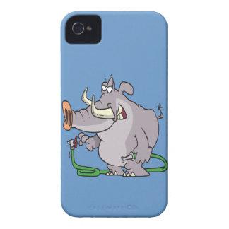water hose elephant cartoon iPhone 4 cases