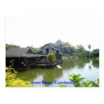 Water house in Siem Reap Postcards