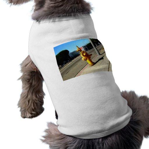 Water Hydrant Pet Tee Shirt