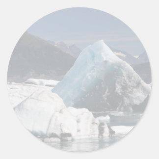 Water & Ice Classic Round Sticker