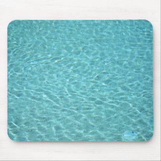 water in a swimming pool mouse pads