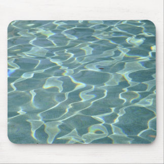 water in a swimming pool mousepads