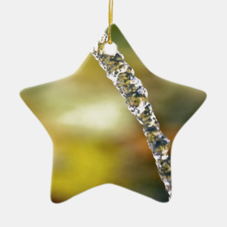 Water In Motion Ceramic Ornament