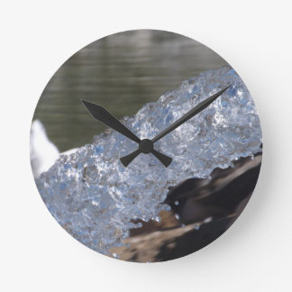 Water In Motion Clock