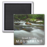 Water in the Great Smoky Mountains National Park Magnets