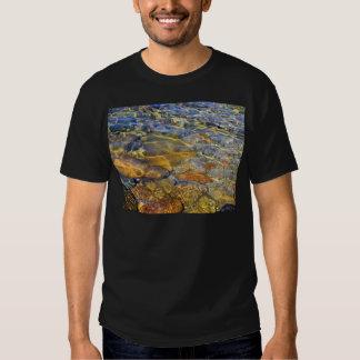 Water Intrigue Light Ribbons Natural Beauty T Shirt