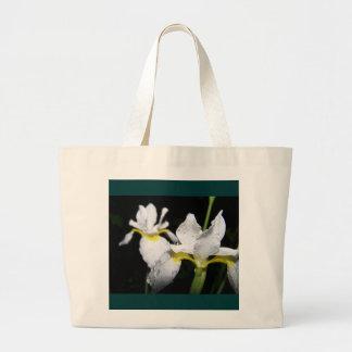 Water Iris after a rain Bags
