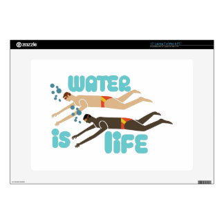 "Water Is Life 15"" Laptop Decals"