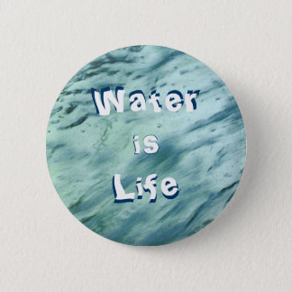 Water is Life Button
