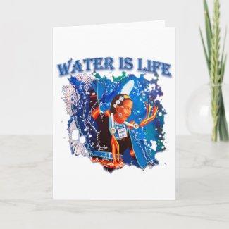 Water is Life - Fancy Shawl Dancer Card