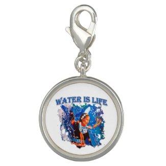 Water is Life - Fancy Shawl Dancer Charm