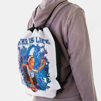 Water is Life - Fancy Shawl Dancer Drawstring Bag