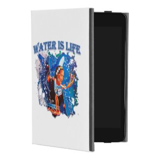Water is Life - Fancy Shawl Dancer iPad Mini 4 Case