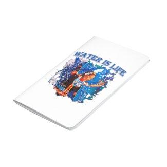 Water is Life - Fancy Shawl Dancer Journal