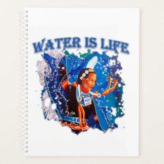 Water is Life - Fancy Shawl Dancer Planner