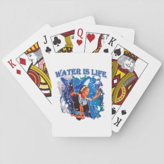 Water is Life - Fancy Shawl Dancer Playing Cards
