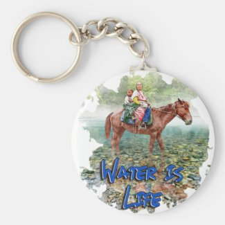 Water is Life Keychain