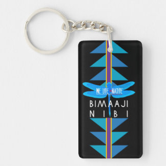 WATER IS LIFE ! KEYCHAIN
