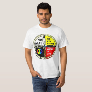 Water is Life - No Pipelines T-shirt