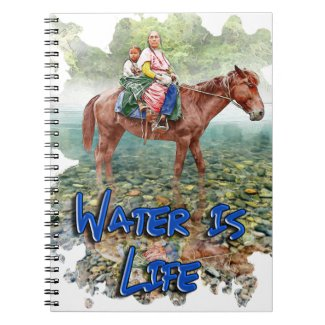 Water is Life Notebook