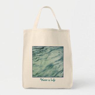 Water is Life Organic Tote Bag