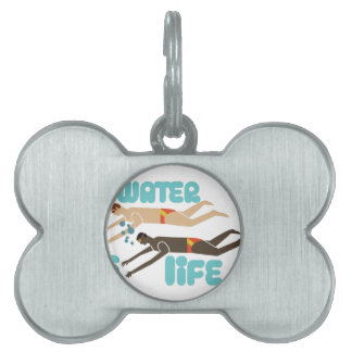 Water Is Life Pet ID Tag