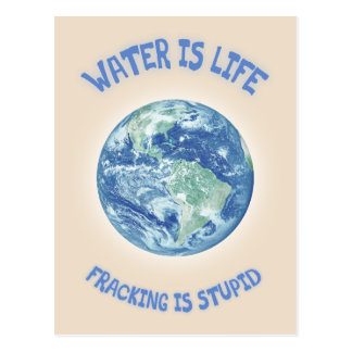 Water Is Life Postcard