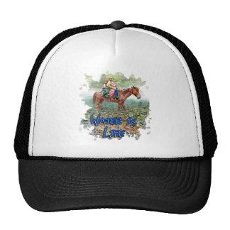 Water is Life Trucker Hat