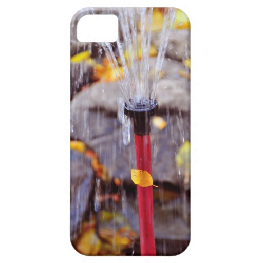 Water jet iPhone 5 cases