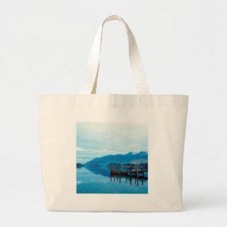 Water Lake Derwent Jetty Cumbria Bag