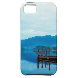 Water Lake Derwent Jetty Cumbria iPhone 5 Case