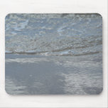 Water Lapping on the Beach Abstract Photography Mouse Pad