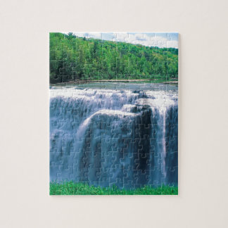 Water Letchworth State Park New York Jigsaw Puzzle