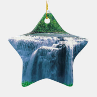Water Letchworth State Park New York Christmas Tree Ornament