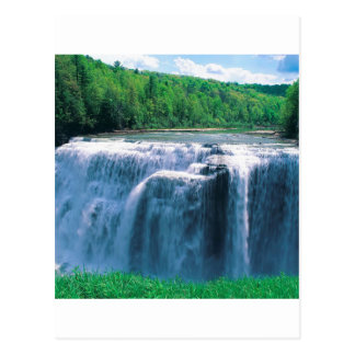 Water Letchworth State Park New York Post Cards