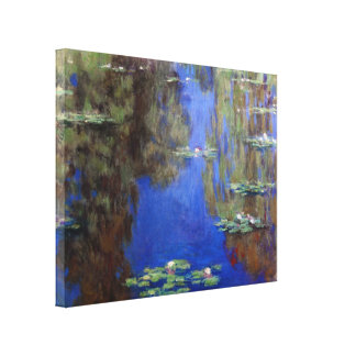 Water Lilies6_lg by Claude Monet Canvas Print