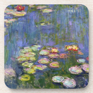 Water Lilies 10 Beverage Coaster