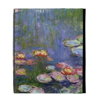 Water Lilies 10 iPad Folio Case