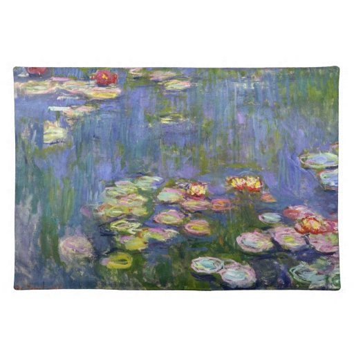 Water Lilies 10 Place Mat
