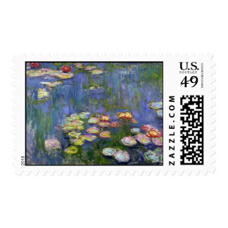 Water Lilies 10 Postage
