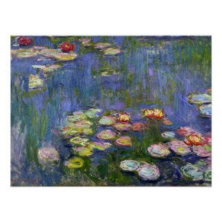 Water Lilies 10 Poster
