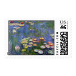 Water Lilies 10 Stamp
