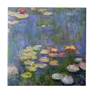 Water Lilies 10 Tile