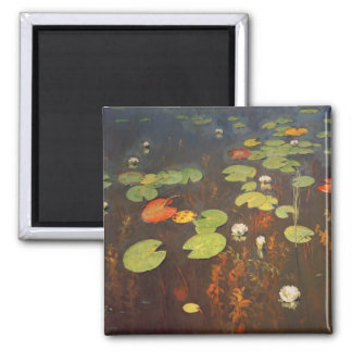Water Lilies 1895 Magnet