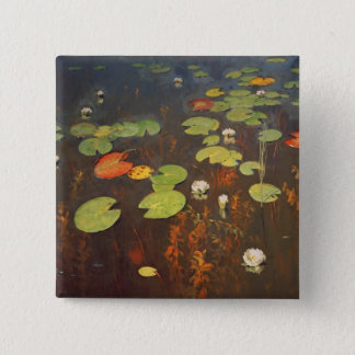 Water Lilies 1895 Pinback Button